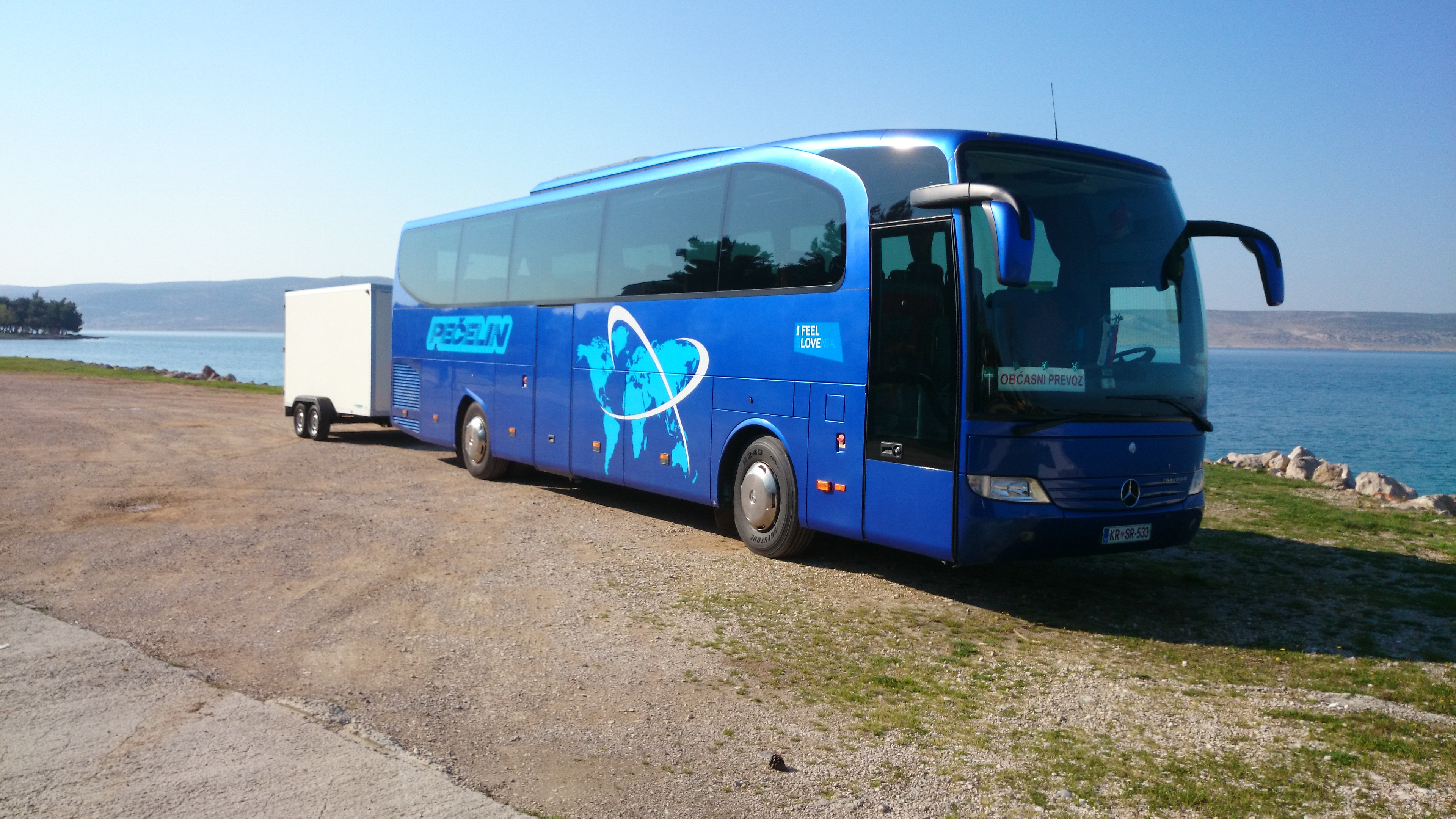 Mercedes 0580-15 RHD TRAVEGO Euro 5